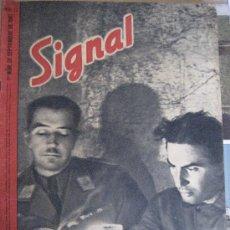 Militaria: SIGNAL Nº 17. SEPTIEMBRE DE 1941. DECLARACIÓN DEL HIJO DE SATALIN.. Lote 27596994