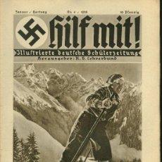 Militaria: REVISTA ALEMANA - HILF MIT! - Nº4 - 1935. Lote 26595950