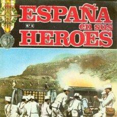 Militaria: COLECCION FASCICULOS ESPAÑA EN SUS HEROES GUERRA DE MARRUECOS TOMO I. Lote 26692584
