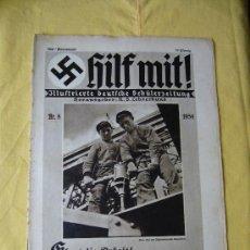 Militaria: REVISTA ALEMANA - HILF MIT! - Nº 8 - 1934. Lote 24643132