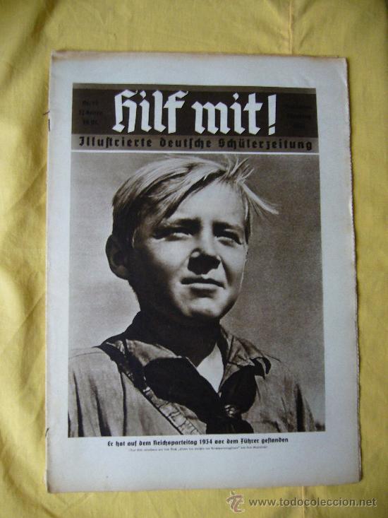REVISTA ALEMANA - HILF MIT! - Nº 12 - 1935 (Militar - Revistas y Periódicos Militares)