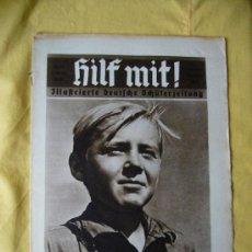 Militaria: REVISTA ALEMANA - HILF MIT! - Nº 12 - 1935. Lote 22928773