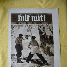 Militaria: REVISTA ALEMANA - HILF MIT! - Nº 3 - 1935. Lote 15233649