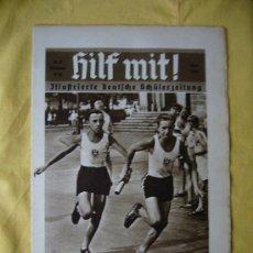 Militaria: REVISTA ALEMANA - HILF MIT! - Nº 9 - 1936. Lote 15233741