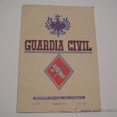 Militaria: GUARDIA CIVIL REVISTA OFICIAL DEL CUERPO AÑO 1964. Lote 27342532