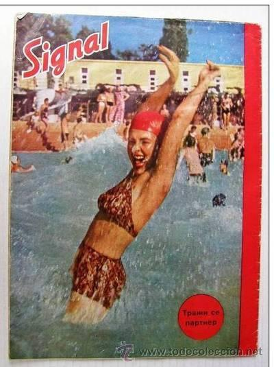 Militaria: Signal nº 10 1944 Ed. S German Magazine - Revista Alemana, Serbia / Serbian - SUPER RARO / SUPER RAR - Foto 3 - 27571048