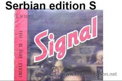 Militaria: Signal nº 10 1944 Ed. S German Magazine - Revista Alemana, Serbia / Serbian - SUPER RARO / SUPER RAR - Foto 4 - 27571048