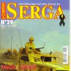 Militaria: SERGA-29. REVISTA SERGA, Nº 29, MAYO/JUNIO 2004. Lote 129473942