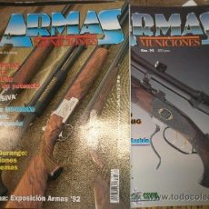 Militaria: LOTE DE 7 REVISTAS ARMAS Y MUNICIONES. Lote 43434483