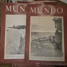 Militaria: 52 REVISTAS MUNDO DE LA 2ª GUERRA MUNDIAL. Lote 15728982
