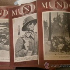 Militaria: 50 REVISTAS MUNDO DE LA 2ª GUERRA MUNDIAL. Lote 15729015
