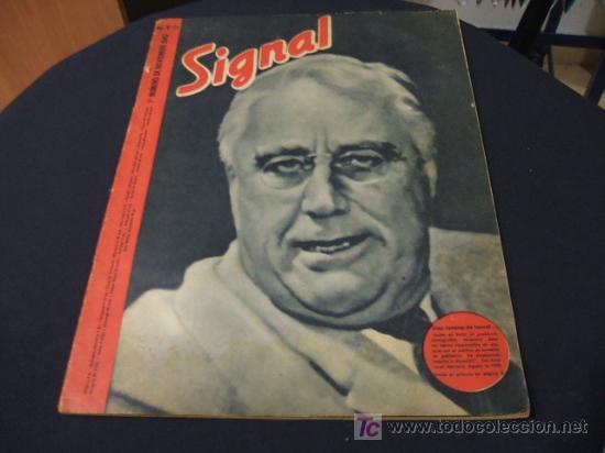 REVISTA SIGNAL - II GUERRA MUNDIAL - NUMERO 21 - NOVIEMBRE 1943 (Militar - Revistas y Periódicos Militares)