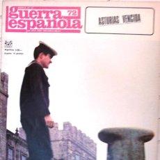 Militaria: CRONICA DE LA GUERRA ESPAÑOLA # 72 - ASTURIAS VENCIDA - CODEX - AÑO 1966 - DE COLECCION. Lote 22006804