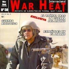 Militaria: WARH-50. REVISTA WAR HEAT INTERNACIONAL Nº 50. Lote 15864483