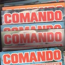 Militaria: COMANDO , TECNICAS DE COMBATE Y SUPERVIVENCIA - LOTE DE 53 EJEMPLARES (Nº 1 AL 53), OFERTA. Lote 16050186