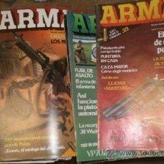 Militaria: LOTE DE 15 REVISTAS ARMAS. Lote 16067254