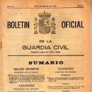 Militaria: BOLETIN OFICIAL DE LA GUARDIA CIVIL - MES DE MARZO DE 1985. Lote 26779741
