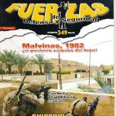 Militaria: FDS-349. REVISTA FUERZAS DE DEFENSA Y SEGURIDAD, MAYO Nº 349. Lote 222376800