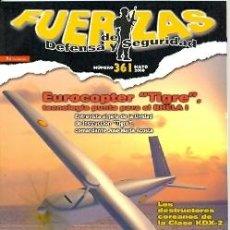Militaria: FDS-361. REVISTA FUERZAS DE DEFENSA Y SEGURIDAD. MAYO 2008, Nº 361. Lote 28107975