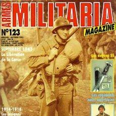 Militaria: REVISTA MILITARIA MAGAZINE FRANCESA Nº 123. Lote 16691199