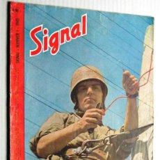 Militaria: SIGNAL Nº 1 1945 ED. N NORUEGA REVISTA ALEMANA MUY RARA ¡¡¡ OCASION !!!. Lote 26895833
