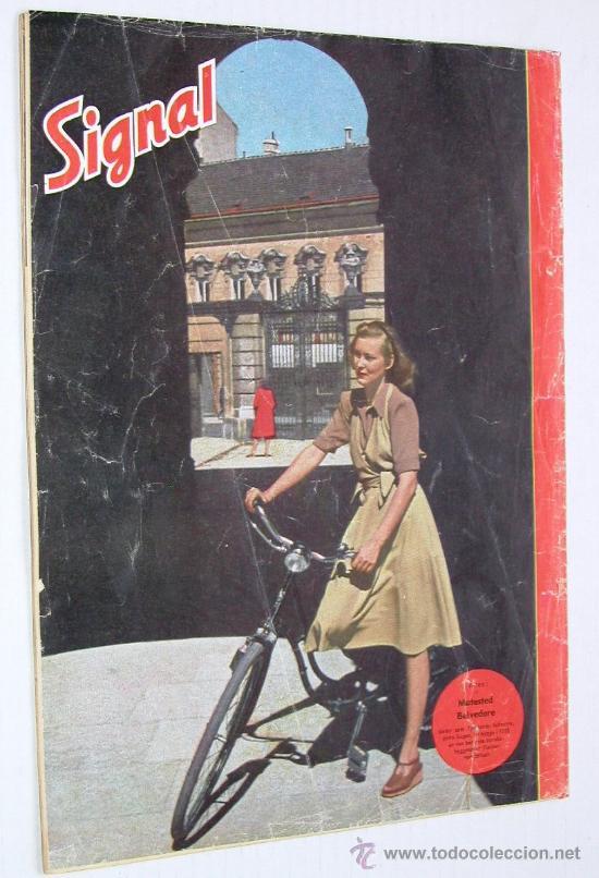 Militaria: Signal nº 1 1945 Ed. N Noruega revista alemana MUY RARA ¡¡¡ OCASION !!! - Foto 2 - 26895833