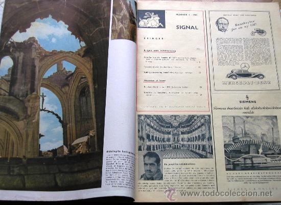 Militaria: Signal nº 1 1945 Ed. N Noruega revista alemana MUY RARA ¡¡¡ OCASION !!! - Foto 3 - 26895833