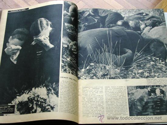 Militaria: Signal nº 1 1945 Ed. N Noruega revista alemana MUY RARA ¡¡¡ OCASION !!! - Foto 4 - 26895833