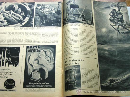 Militaria: Signal nº 1 1945 Ed. N Noruega revista alemana MUY RARA ¡¡¡ OCASION !!! - Foto 6 - 26895833