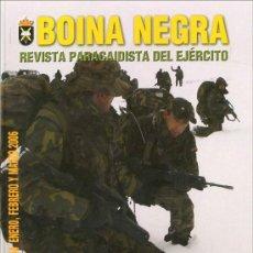 Militaria: LOTE 7 BOINA NEGRA REVISTA PARACAIDISTA DEL EJERCITO ESPAÑOL - BRIGADA PARACAIDISTA. Lote 27268305