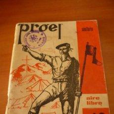 Militaria: OJE - ORGANIZACION JUVENIL ESPAÑOLA - PROEL SANITARIO - AIRE LIBRE 10 - 1975 .. Lote 27278482