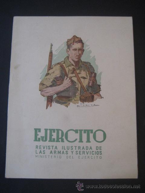 REVISTA ILUSTRADA DE LAS ARMAS Y SERVICIOS. MINISTERIO DEL EJERCITO. Nº 154. NOVIEMBRE 1952. (Militar - Revistas y Periódicos Militares)