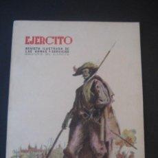 Militaria: REVISTA ILUSTRADA DE LAS ARMAS Y SERVICIOS. MINISTERIO DEL EJERCITO. Nº 160. MAYO 1953.. Lote 18946038