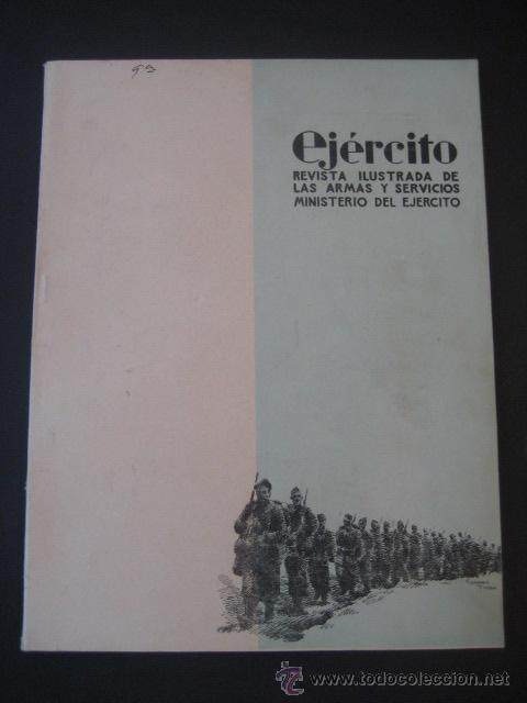 REVISTA ILUSTRADA DE LAS ARMAS Y SERVICIOS. MINISTERIO DEL EJERCITO. Nº 166. NOVIEMBRE 1953. (Militar - Revistas y Periódicos Militares)