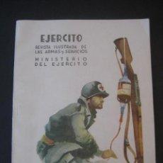 Militaria: REVISTA ILUSTRADA DE LAS ARMAS Y SERVICIOS. MINISTERIO DEL EJERCITO. Nº 243. ABRIL 1960.. Lote 18946396