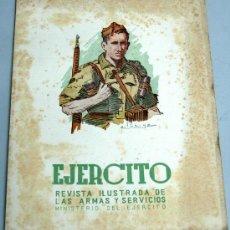 Militaria: EJÉRCITO REVISTA ILUSTRADA ARMAS Y SERVICIOS Nº 154 AÑO XIII NOVIEMBRE 1952 MINISTERIO DEL EJÉRCITO. Lote 18956239