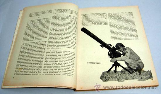 Militaria: Ejército Revista ilustrada armas y servicios nº 118 año X noviembre 1949 Ministerio del Ejército - Foto 2 - 18976667