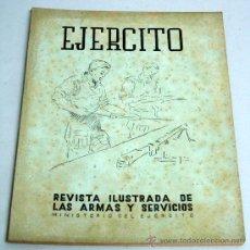 Militaria: EJÉRCITO REVISTA ILUSTRADA ARMAS Y SERVICIOS Nº 129 AÑO XI OCTUBRE 1950 MINISTERIO DEL EJÉRCITO. Lote 18977198