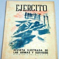 Militaria: EJÉRCITO REVISTA ILUSTRADA ARMAS Y SERVICIOS Nº 92 AÑO VIII SEPTIEMBRE 1947 MINISTERIO DEL EJÉRCITO. Lote 18978044