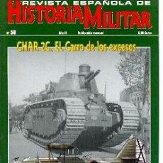 Militaria: REHM-58. REVISTA ESPAÑOLA DE HISTORIA MILITAR Nº 58. Lote 19266490