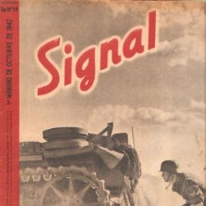 Militaria: REVISTA SIGNAL EDICION ESPAÑOLA 1º NUMERO OCTUBRE 1942. Lote 20557212