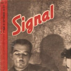 Militaria: REVISTA SIGNAL EDICION ESPAÑOLA 1º NUMERO SEPTIEMBRE 1941. Lote 20557620