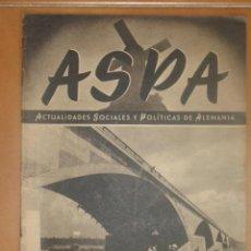 Militaria: REVISTA ASPA Nº 3 FEBRERO DE 1943. Lote 26009264