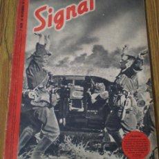 Militaria: REVISTA .. SIGNAL .. SP Nº 22 // 2º Nº DE NOVIEMBRE 1941 .. EN CASTELLANO. Lote 21460894