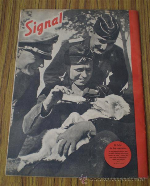 Militaria: revista .. SIGNAL .. Sp nº 22 // 2º nº de noviembre 1941 .. En castellano - Foto 2 - 21460894