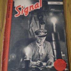 Militaria: REVISTA .. SIGNAL .. SP Nº 23-24 // Nº DICIEMBRE 1941 .. EN CASTELLANO. Lote 21460998