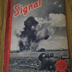 Militaria: REVISTA .. SIGNAL .. SP Nº 17 // 1º Nº DE SETIEMBRE 1942 .. EN CASTELLANO. Lote 21461056