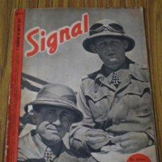 Militaria: REVISTA .. SIGNAL .. SP Nº 9 // 1º Nº DE MAYO 1941 .. EN CASTELLANO. Lote 21461093