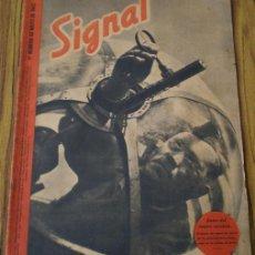 Militaria: REVISTA .. SIGNAL .. SP Nº 9 // 1 Nº DE MAYO 1942 .. EN CASTELLANO. Lote 21461331