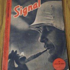 Militaria: REVISTA .. SIGNAL .. SP Nº 3 // 1 Nº DE FEBRERO 1942 .. EN CASTELLANO. Lote 21461366